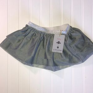 Other - NWT Silver and Grey baby tutu size 12 months